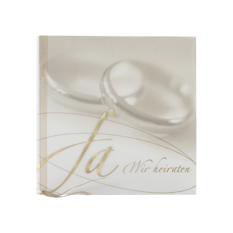 Hochzeitseinladung Drucken Mit Goldfolienpragung Auf Pergament