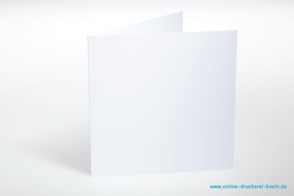 Hochzeitseinladung Mit Kuvert Quadratisch Beidseitig Farbig Bedruckt