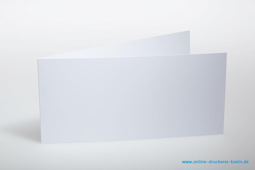 Einladungskarte Mit Kuvert, DIN Lang, Farbig Bedruckt