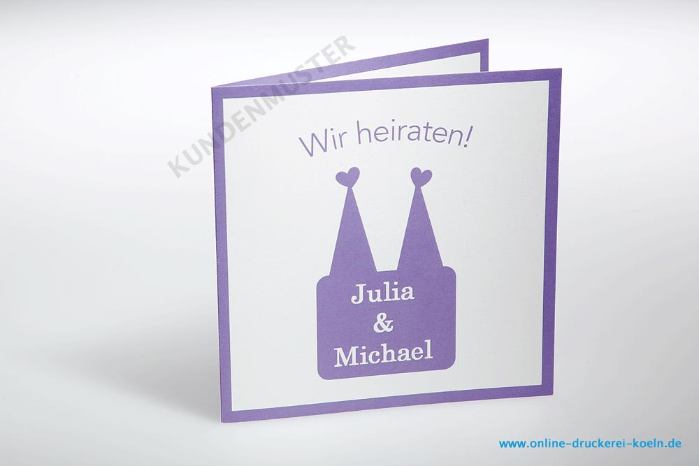 Muster Digitaldruck Köln Digitaldruck Einladungen Hochzeitskarte Im  Digitaldruck