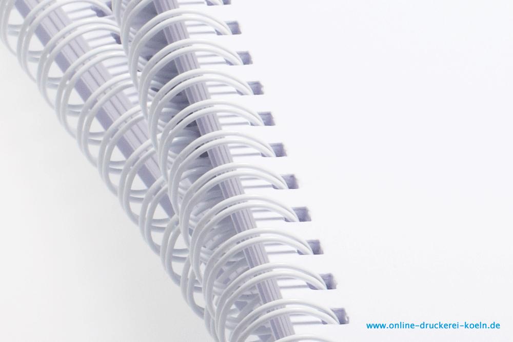 Spiralbindung DIN A4 mit 48 Seiten drucken und binden