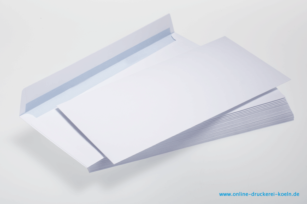 Din Lang Briefumschlag Ohne Fenster Mit Hks Farben Drucken