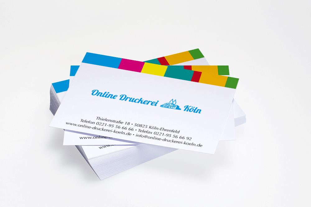 Visitenkarten Drucken Bei Online Druckerei Köln Auf Rechnung