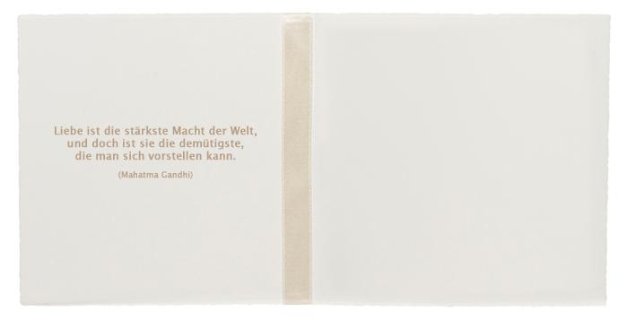 Hochzeit Spruch Einladung #22: Mahatma Ghandi Zitat Spruch