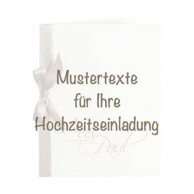 Schoner Text Fur Hochzeitseinladung Und Hochzeitskarten
